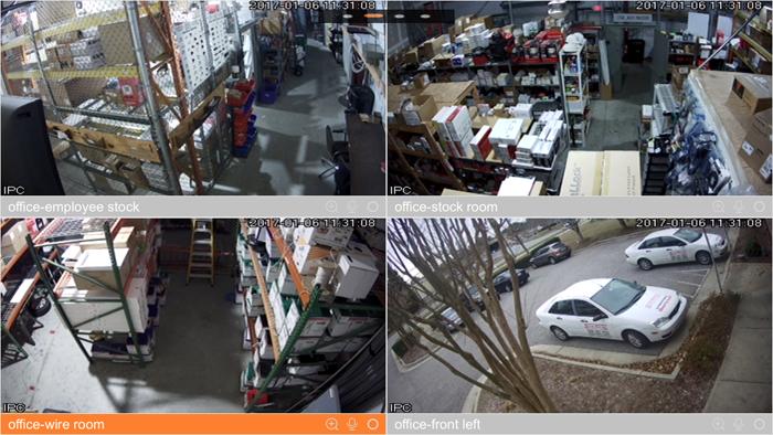 business video security cameras